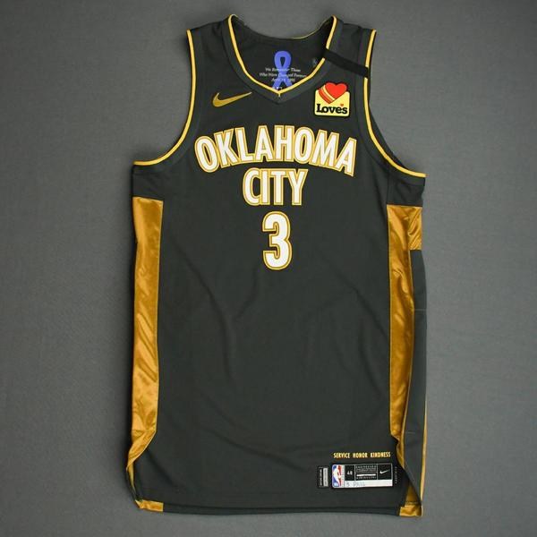 Image of Chris Paul - Oklahoma City Thunder - Game-Worn City Edition Jersey - 2019-20 Season