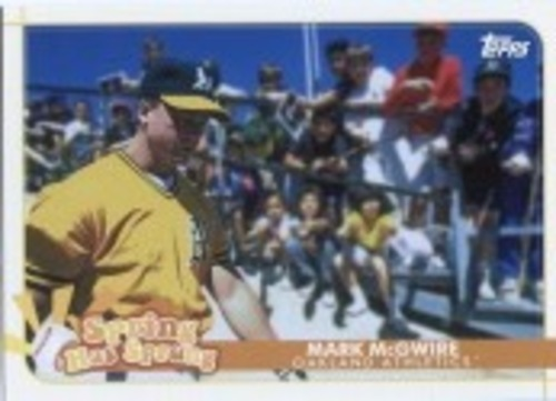 Photo of 2020 Topps Opening Day Spring Has Sprung #SHS10 Mark McGwire