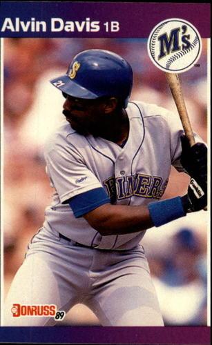 Photo of 1989 Donruss #345 Alvin Davis
