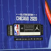 JaysonTatum - 2020 NBA All-Star - Team LeBron - Autographed Jersey