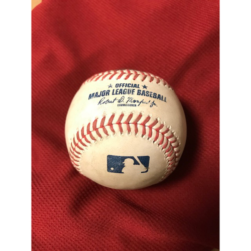 Photo of 2020 Game-Used Home Run Ball: 8/4/20 Astros at Diamondbacks, Jose Altuve homered off of Madison Bumgarner in the top of the 1st inning