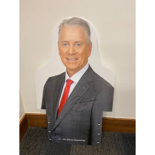 Photo of Tom Glavine Autographed MLB Authenticated 2020 Season Cardboard Cutout