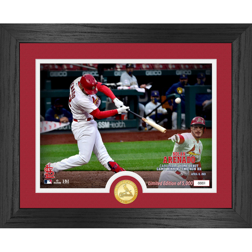 Photo of SERIAL #1 - St. Louis Cardinals Commemorate Nolan Arenado's Debut Game