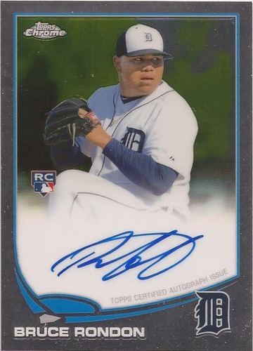 Photo of 2013 Topps Chrome Rookie Autographs #85 Bruce Rondon