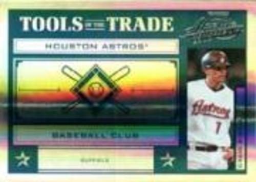 Photo of 2004 Absolute Memorabilia Tools of the Trade Green Spectrum #32 Craig Biggio H
