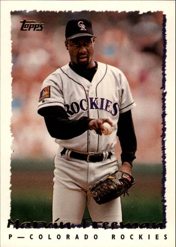 Photo of 1995 Topps #465 Marvin Freeman