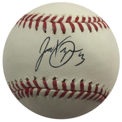 Cardinals Authentics: Jedd Gyorko Autographed Baseball