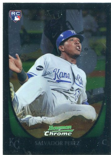 Photo of 2011 Bowman Chrome Draft #12 Salvador Perez Rookie Card