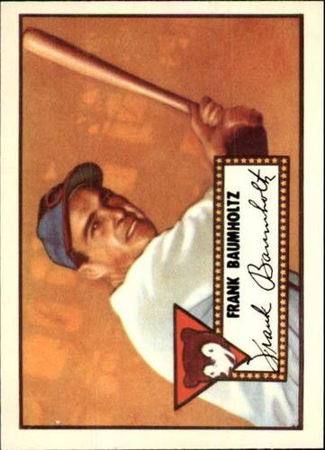 Photo of 1983 Topps 1952 Reprint #225 Frank Baumholtz