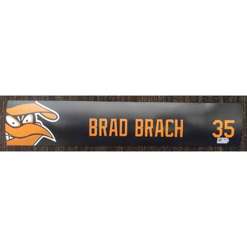 Brad Brach - 2017 Locker Tag: Team-Issued