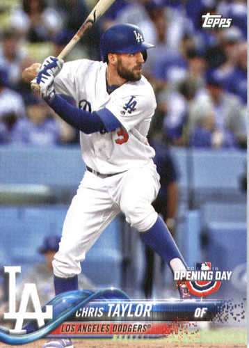 Photo of 2018 Topps Opening Day #167 Chris Taylor