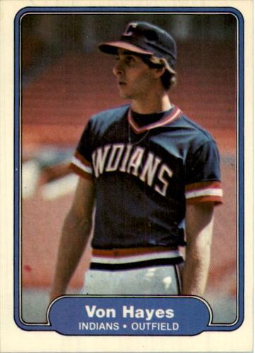 Photo of 1982 Fleer #371 Von Hayes RC