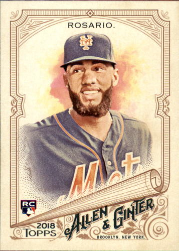 Photo of 2018 Topps Allen and Ginter #203 Amed Rosario RC