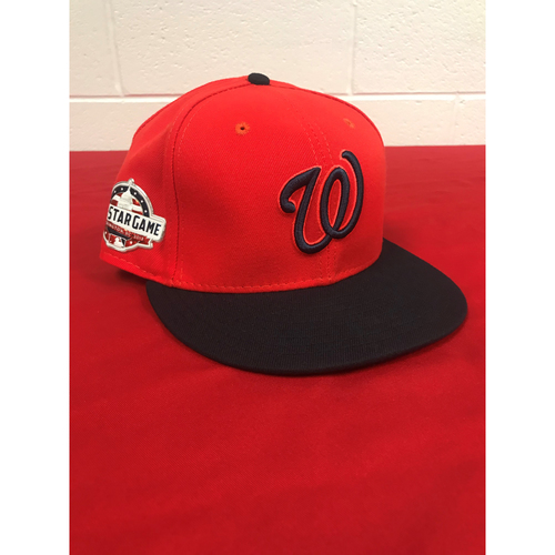 Photo of Juan Soto Game-Used 2018 Player's Weekend Cap with All Star Game Patch - 8/26/2018