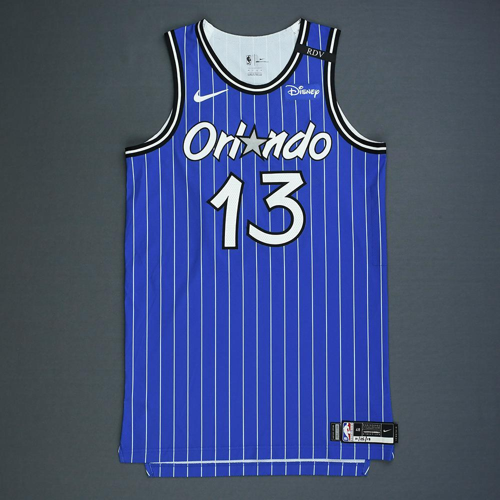 Isaiah Briscoe - Orlando Magic - Game-Worn Classic Edition 1994-98 Alternate Road Jersey - 2018-19 Season