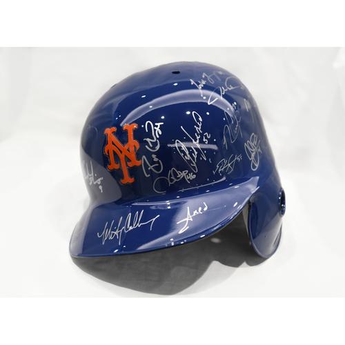 Amazin' Auction: Team Autographed Helmet