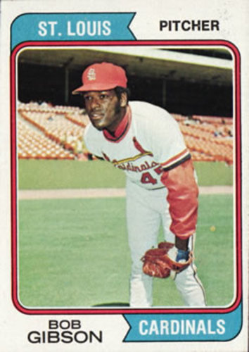 Photo of 1974 Topps #350 Bob Gibson