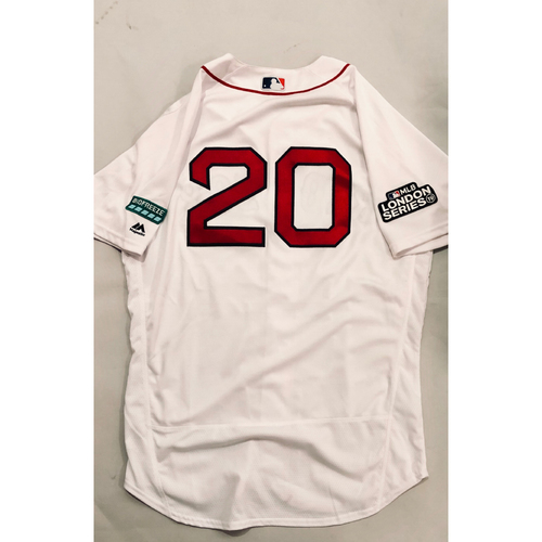Photo of 2019 London Series - Game-Used Jersey - Alex Cora, New York Yankees vs Boston Red Sox - 6/29/19