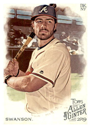 Photo of 2019 Topps Allen and Ginter #226 Dansby Swanson