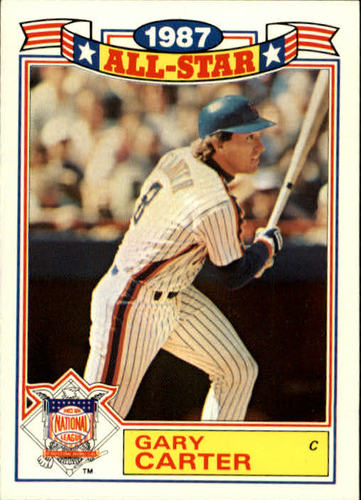 Photo of 1988 Topps Glossy All-Stars #20 Gary Carter