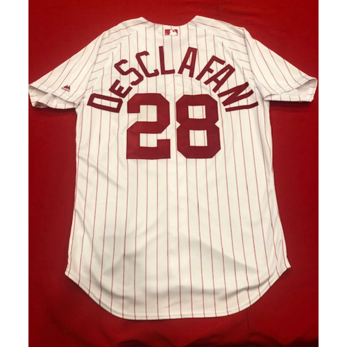 Anthony DeSclafani -- 1967 Throwback Jersey & Pants -- Game-Used for Rockies vs. Reds on July 28, 2019 -- Jersey Size: 46 / Pants Size: 35-40-17