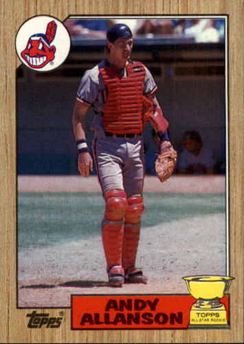 Photo of 1987 Topps #436 Andy Allanson RC