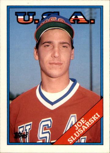 Photo of 1988 Topps Traded #109T Joe Slusarski OLY XRC