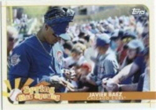 Photo of 2020 Topps Opening Day Spring Has Sprung #SHS17 Javier Baez