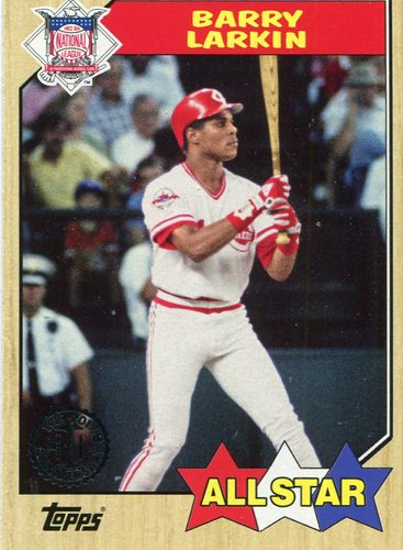 Photo of 2017 Topps '87 Topps #87182 Barry Larkin