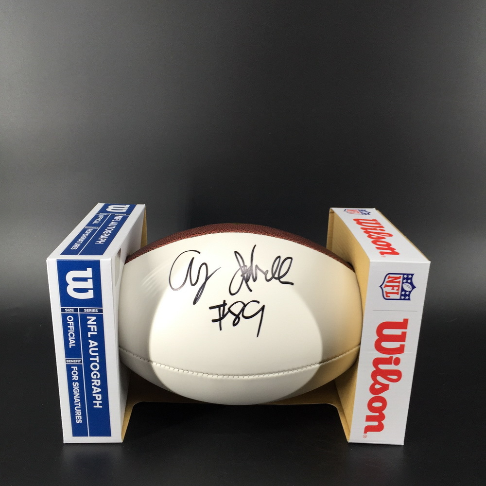 NFL - Cardinals Andy Isabella Signed Panel Ball