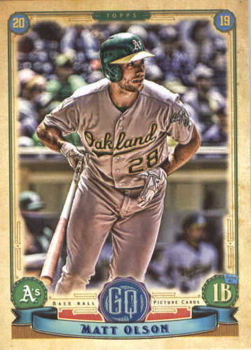 Photo of 2019 Topps Gypsy Queen #280 Matt Olson