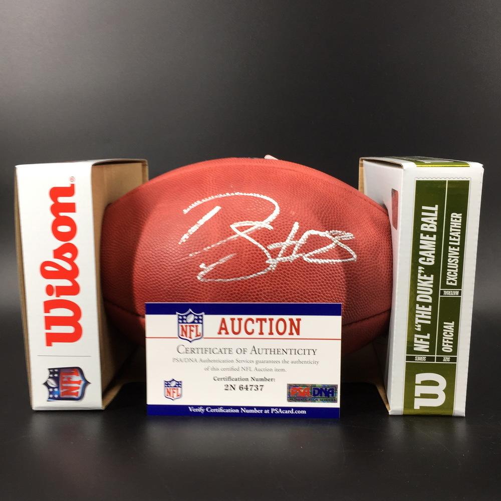 NFL - Eagles Darius Slay Signed Authentic Football W/ 100 Seasons Logo
