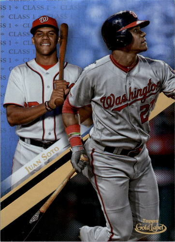 Photo of 2019 Topps Gold Label Class 1 #66 Juan Soto