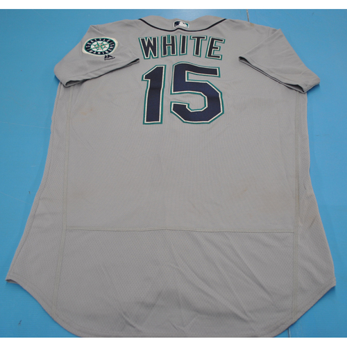 Photo of Game-Used Jersey - 2018 Arizona Fall League - Evan White