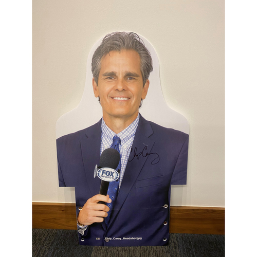 Photo of Chip Caray Autographed MLB Authenticated 2020 Season Cardboard Cutout