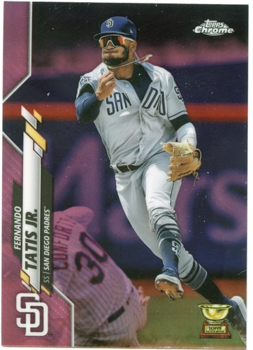 Photo of 2020 Topps Chrome Pink Refractors #84 Fernando Tatis Jr.