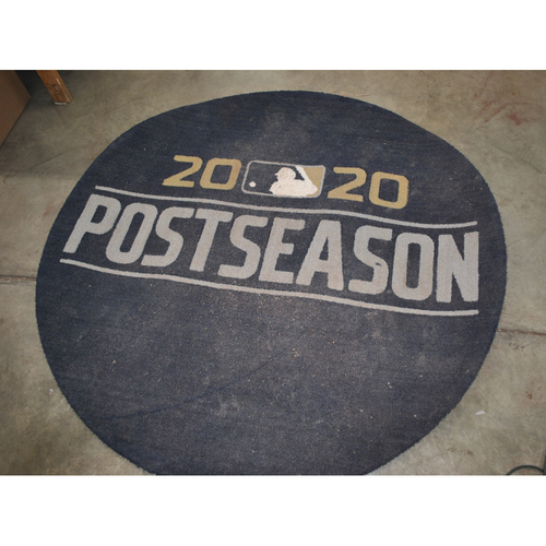 Photo of Game-Used Visiting Side On Deck Circle - Used For Tampa Bay Rays vs. New York Yankees Series/Tampa Bay Rays vs. Houston Astros Series - 10/5-10/17
