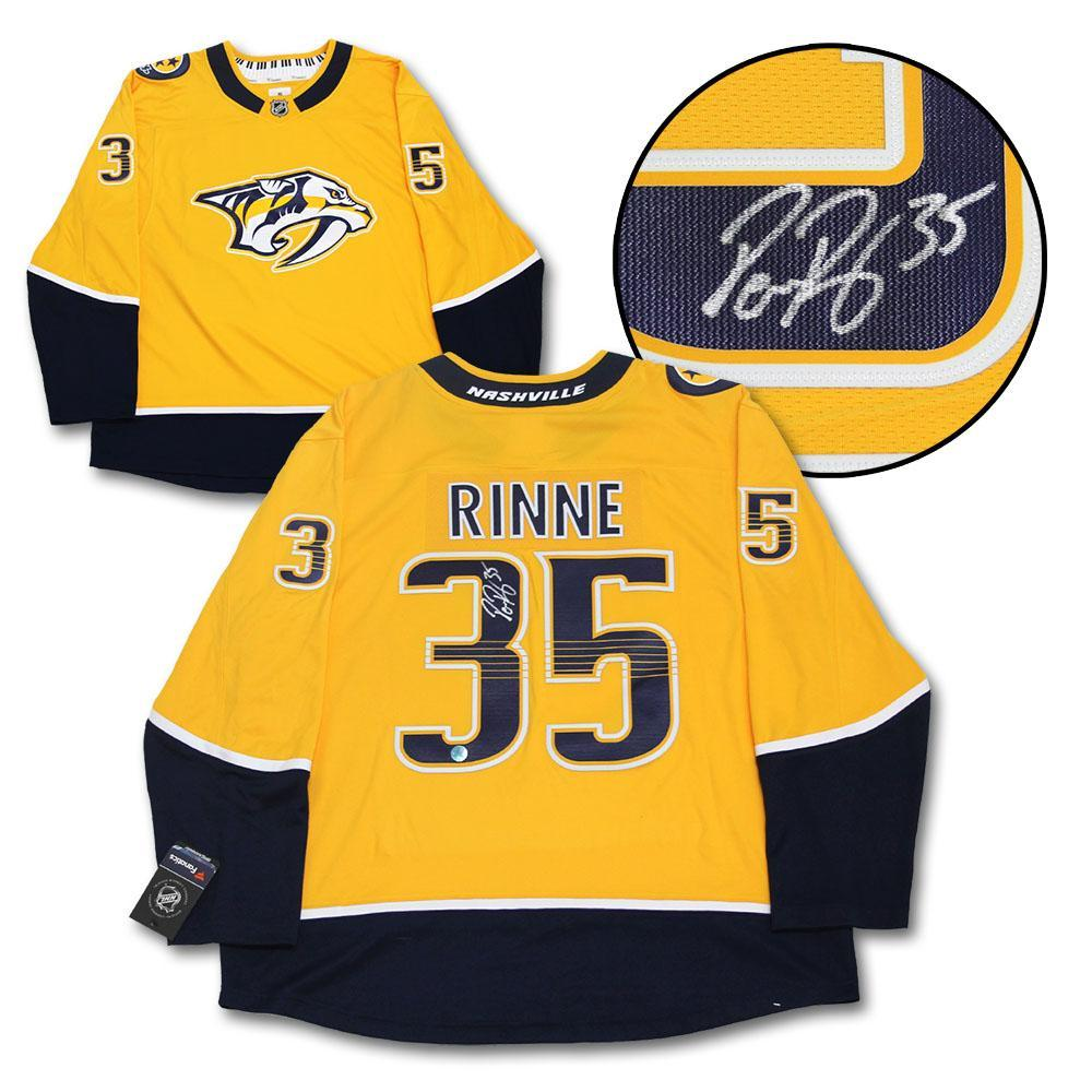 Pekka Rinne Nashville Predators Autographed Fanatics Jersey