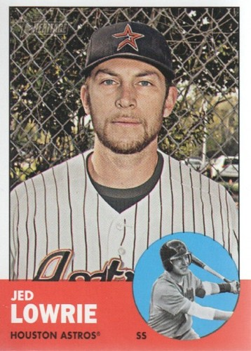 Photo of 2012 Topps Heritage #222 Jed Lowrie