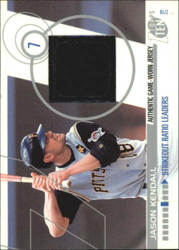 Photo of 2002 Topps Ten Relics #TTRJK Jason Kendall Jsy A