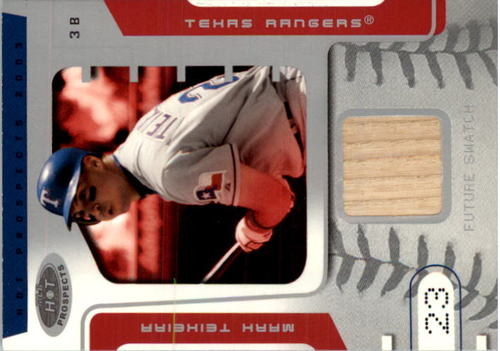 Photo of 2003 Hot Prospects #82 Mark Teixeira FS Bat