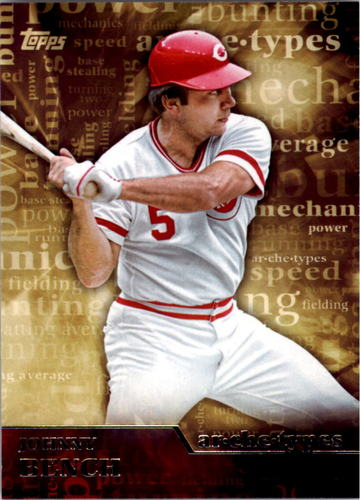 Photo of 2015 Topps Archetypes #A16 Johnny Bench