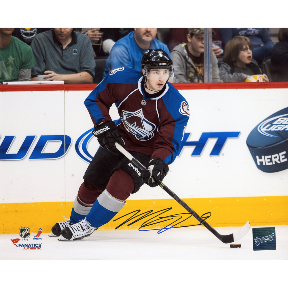 Matt Duchene Colorado Avalanche Autographed 8'' x 10'' Burgundy Uniform Skating Photograph - Frameworth