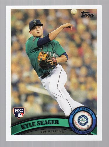 Photo of 2011 Topps Update #US308 Kyle Seager Rookie Card