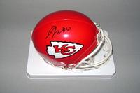 NFL - D.J. ALEXANDER SIGNED CHIEFS MINI HELMET