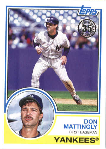 Photo of 2018 Topps '83 Topps #8356 Don Mattingly