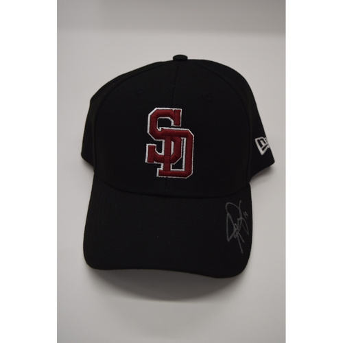 Photo of Josh Phegley #19 - Signed & Game-Used Marjory Stoneman Douglas High School Hat - CHARITY AUCTION