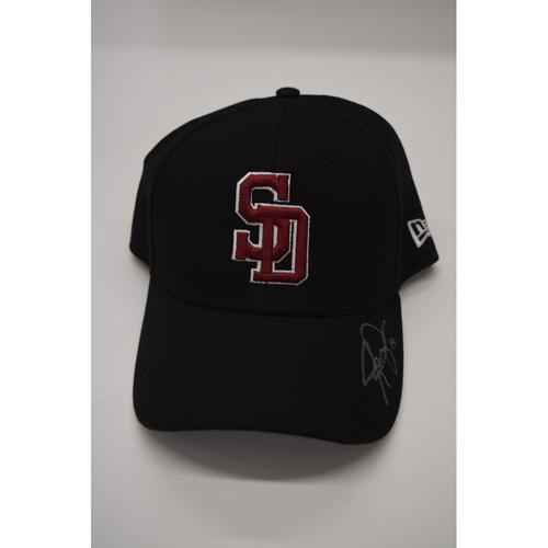 Photo of Josh Phegley #19 - Signed & Game-Used Marjory Stoneman Douglas High School Hat - CHARITY AUCTION