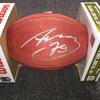 NFL - Steelers Alejandro Villanueva signed authentic football