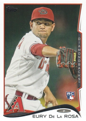 Photo of 2014 Topps #456 Eury De La Rosa RC